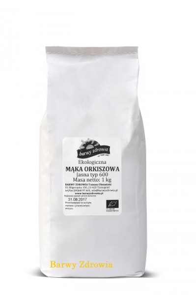 Mąka  Orkiszowa Barwy Zdrowia