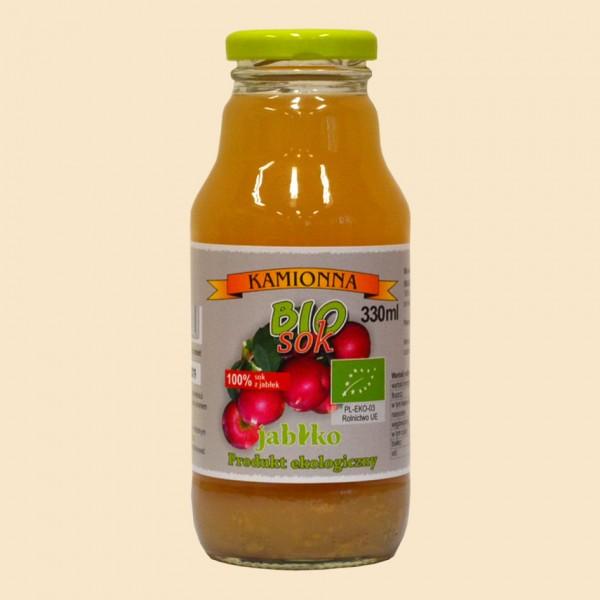 Sok jabłko - 100% jabłko 330 ml z Kamionnej