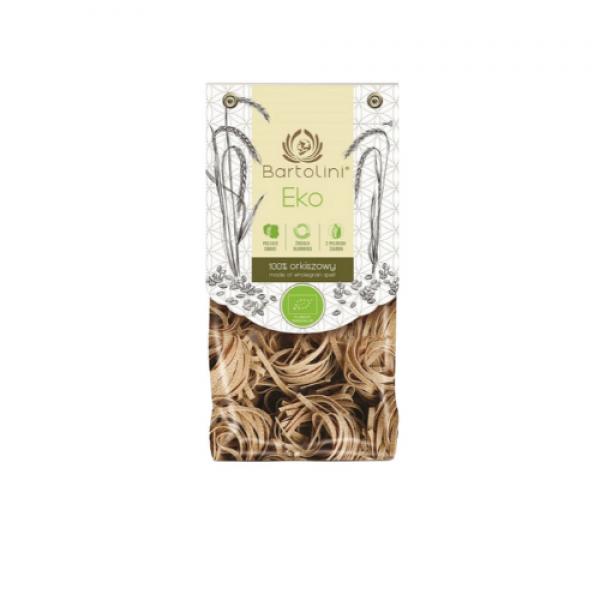 Makaron ekologiczny orkiszowy gniazda 250 g Bartolini