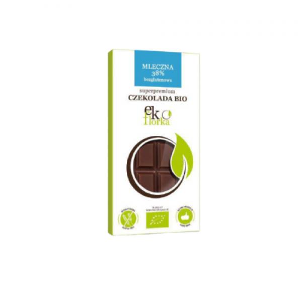 Ekologiczna czekolada mleczna 85 g Ekoflorka