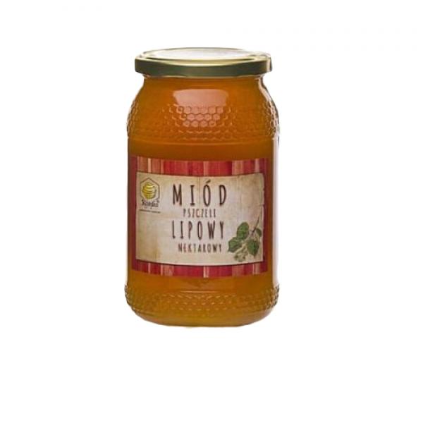 Miód pszczeli lipowy 1200 g Gospodarstwo Pasieczne Kószka