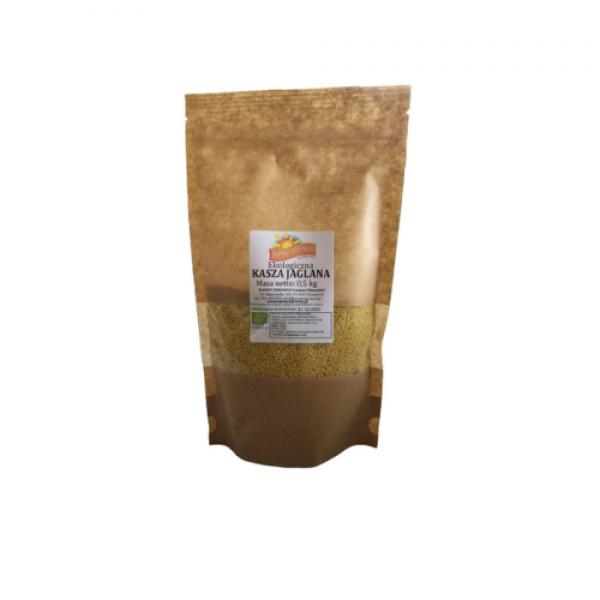 Kasza jaglana ekologiczna 0,5 kg Barwy Zdrowia