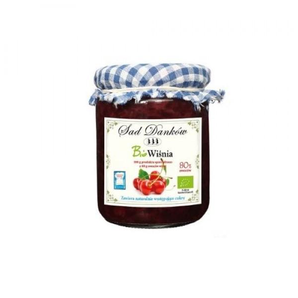 Ekologiczny dżem z wiśni 260 g Sad Danków