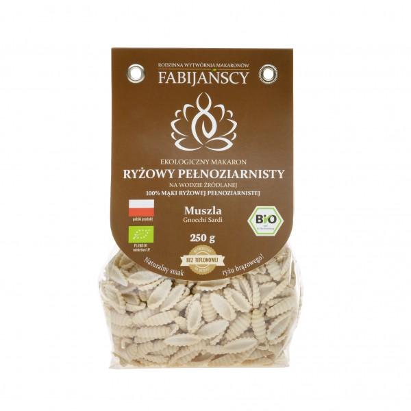 Makaron ryżowy bio muszla Gnocchi Sardi 250 g