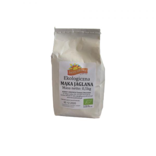 Ekologiczna mąka jaglana 0,5 kg Barwy Zdrowia
