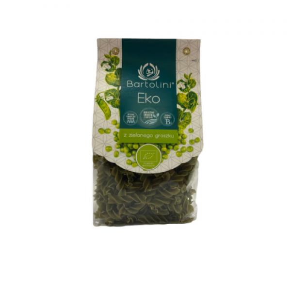 Makaron ekologiczny z zielonego groszku świderek 250 g Bartolini