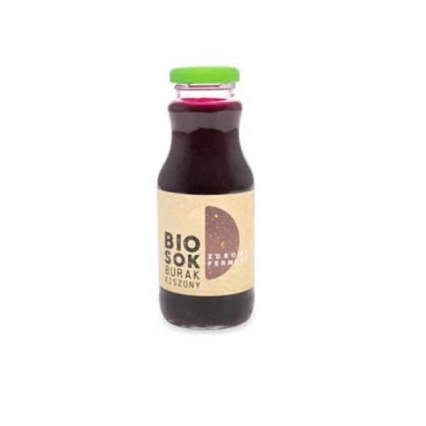 Ekologiczny sok burak kiszony 250 ml Owocowe Smaki