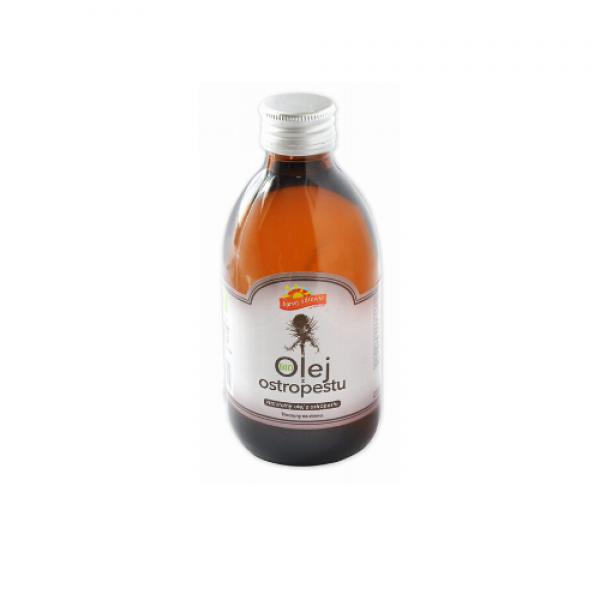 Ekologiczny olej z ostropestu 250 ml Barwy Zdrowia