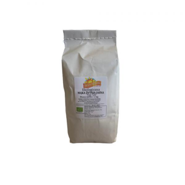Ekologiczna mąka żytnia jasna Typ 720  1 kg Barwy Zdrowia