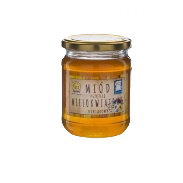 Miód pszczeli wielokwiatowy 600 g Gospodarstwo Pasieczne Kószka