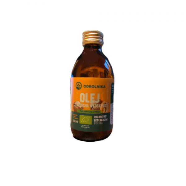 Olej z orzecha włoskiego ekologiczny 250 ml ODROLNIKA