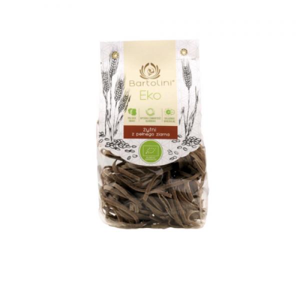 Makaron ekologiczny żytni z pełnego ziarna gniazda 250 g Bartolini