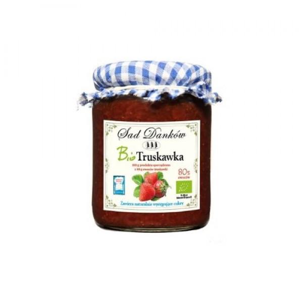 Ekologiczny dżem z truskawek 260 g Sad Danków