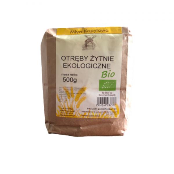Otręby pszenne ekologiczne  500 g Młyn Kopytowa