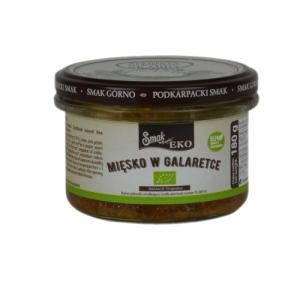 Ekologiczna mięsko w galarecie 180 g Smak Górno