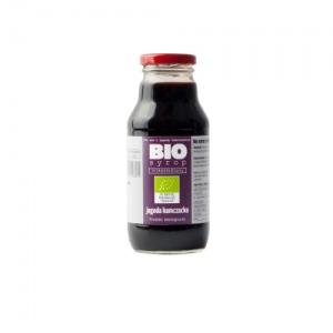Ekologiczny syrop niskosłodzony z jagody kamczackiej 330 ml Kamionna