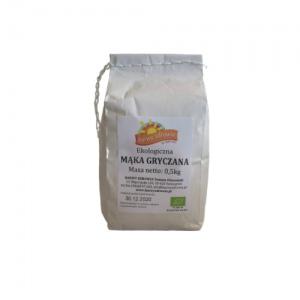Mąka gryczana ekologiczna 0,5 kg Barwy Zdrowia