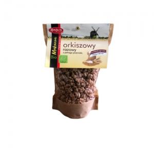 Makaron orkiszowy razowy z pełnego przemiału muszelka ekologiczny 250 g Malwa