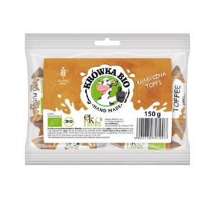 Ekologiczna krówka klasyczna 150 g Ekoflorka