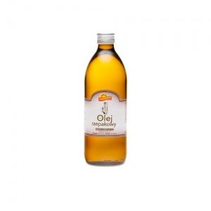 Olej rzepakowy ekologiczny 500 ml barwy Zdrowia