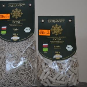 Makaron żytni bio rurka Maccheroni 300 g