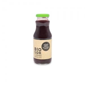 Ekologiczny syrop z czarnej porzeczki 250 ml Owocowe Smaki