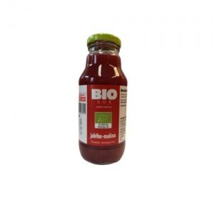 Ekologiczny sok jabłkowy z maliną 330 ml Kamionna