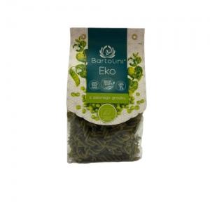 Makaron z zielonego groszku świderek ekologiczny 250 g Bartolini