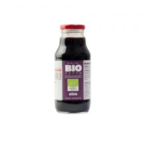 Ekologiczny syrop niskosłodzony z wiśni 330 ml Kamionna