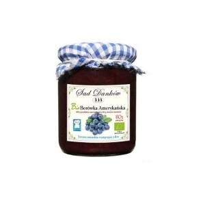 Ekologiczny dżem z jagody kamczackiej 260 g Sad Danków