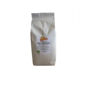 Mąka orkiszowa razowa Typ 2000 ekologiczna 1 kg Barwy Zdrowia