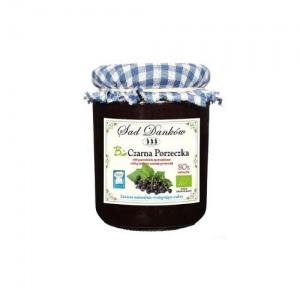 Ekologiczny dżem z czarnej porzeczki 260 g Sad Danków