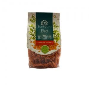 Makaron z czerwonej soczewicy świderek ekologiczny 250 g Bartolini